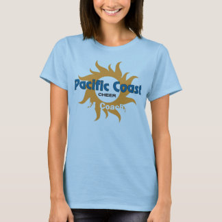 pACIFIC cOAST3x3jpg, #1 Coach! T-Shirt