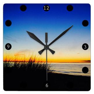 Pacific CoastBeach Clock