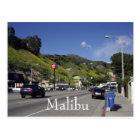 Pacific Coast Highway Malibu California Postcard