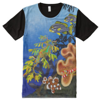 Pacific Coral Reef Life Shirt