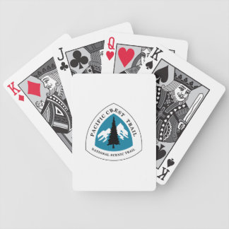 Pacific Crest Trail Bicycle Playing Cards