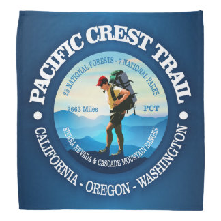 Pacific Crest Trail (Hiker C) Bandana