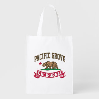 Pacific Grove California Reusable Grocery Bag