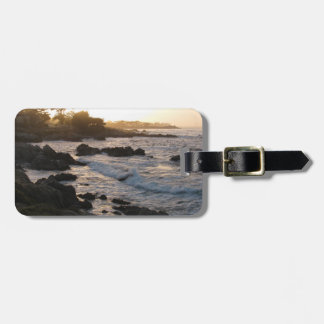 Pacific Grove Sunset Luggage Tag