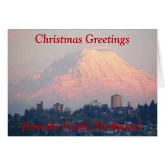 Pacific Northwest Photo Christmas Card