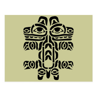 Pacific NW Indian Design Postcards