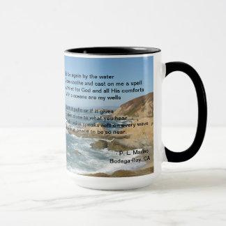 Pacific Ocean as seen from Bodega Bay on a mug
