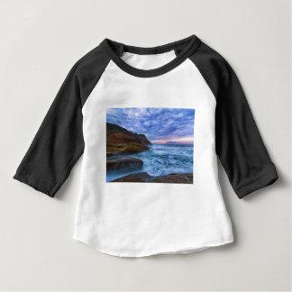 Pacific Ocean at Cape Kiwanda in Oregon USA Baby T-Shirt