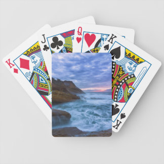 Pacific Ocean at Cape Kiwanda in Oregon USA Bicycle Playing Cards