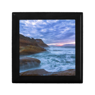 Pacific Ocean at Cape Kiwanda in Oregon USA Gift Box