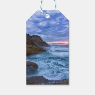 Pacific Ocean at Cape Kiwanda in Oregon USA Gift Tags