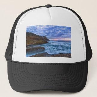 Pacific Ocean at Cape Kiwanda in Oregon USA Trucker Hat