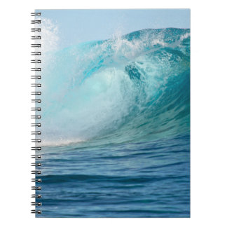 Pacific ocean big wave breaking notebook