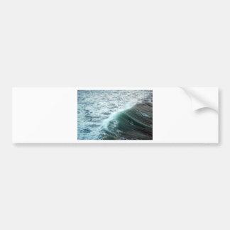 Pacific Ocean Blue Bumper Sticker
