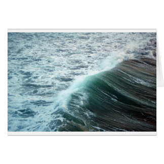 Pacific Ocean Blue Card
