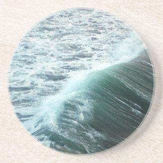 Pacific Ocean Blue Coaster