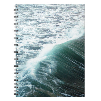 Pacific Ocean Blue Notebook