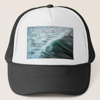 Pacific Ocean Blue Trucker Hat