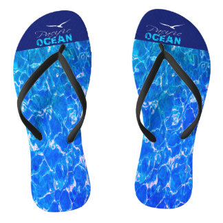 Pacific Ocean Flip Flops