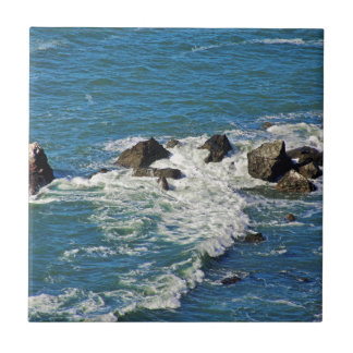 Pacific Ocean in Motion Ceramic Tile