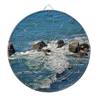 Pacific Ocean in Motion Dart Board