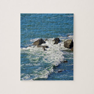 Pacific Ocean in Motion Jigsaw Puzzle