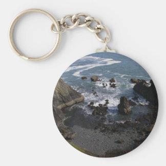 Pacific Ocean Keychain