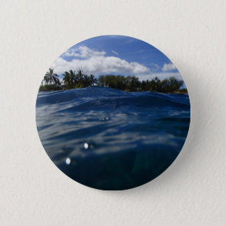 Pacific Ocean Maui 2 Inch Round Button
