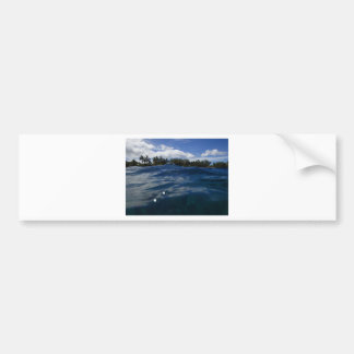 Pacific Ocean Maui Bumper Sticker