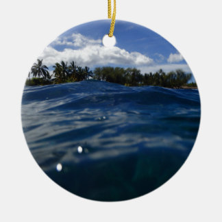 Pacific Ocean Maui Ceramic Ornament