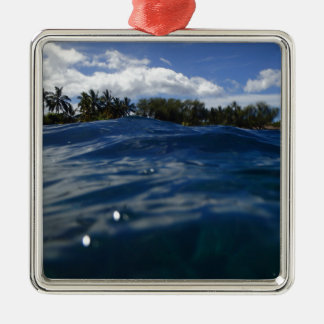Pacific Ocean Maui Metal Ornament