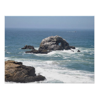 Pacific Ocean, San Francisco, CA Poster