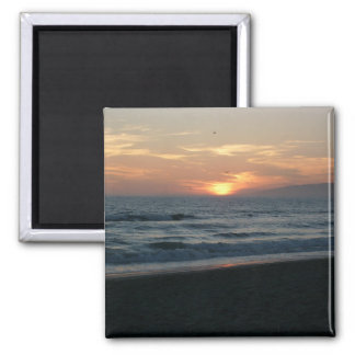 Pacific Ocean Sunset Magnet