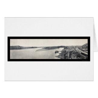 Pacific Panama Canal Photo 1914 Card