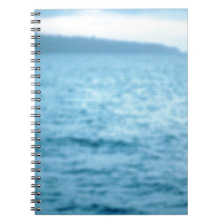 pacific pelican spiral notebook
