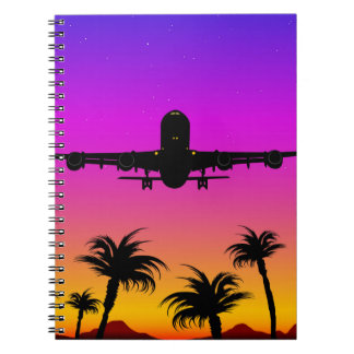 Pacific Plane Notebook