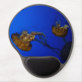 Pacific Sea Nettle Jellyfish Gel Mousepad