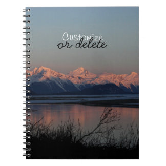 Pacific Sunset; Customizable Notebooks