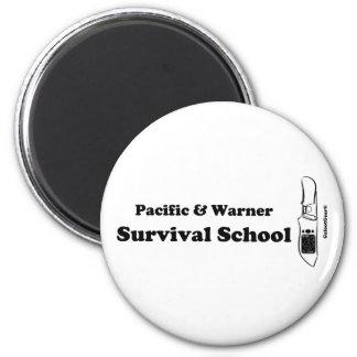 Pacific & Warner Survival School Magnet