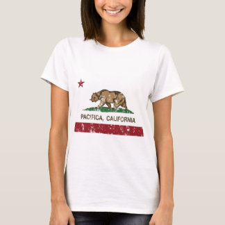 pacifica california state flag T-Shirt