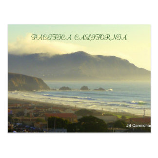 Pacifica from the air postcard