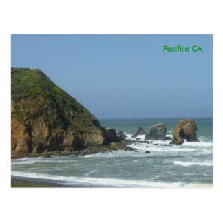 Pacifica, San Francisco CA Postcard