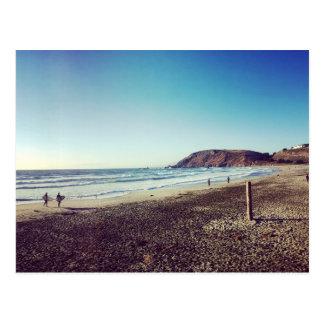 Pacifica State Beach Postcard