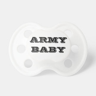 Pacifier Army Baby