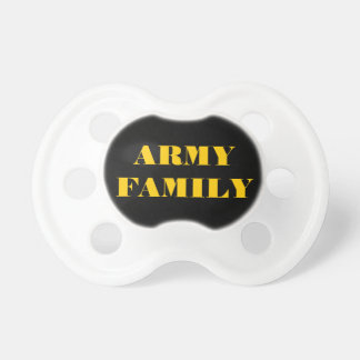 Pacifier Army Family