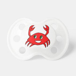 Pacifier - Happy Crab