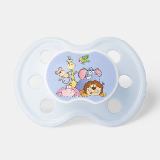 Pacifier--Jungle Animals Baby Pacifier