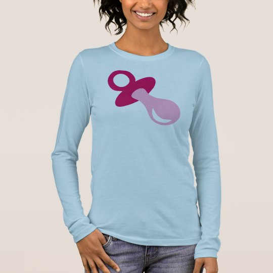 Pacifier Long Sleeve T-Shirt