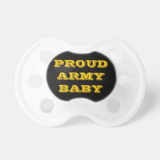 Pacifier Proud Army Baby