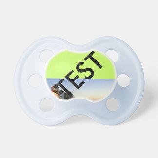 Pacifier test